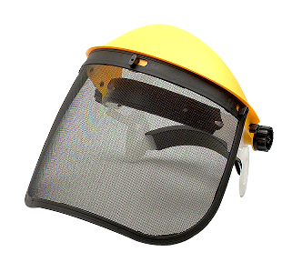 Wire Mesh Face Shield With Ratchet Type Headgear - JF-502