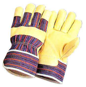 Double Palm Leather Work Gloves