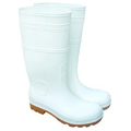 PVC White Safety Boots